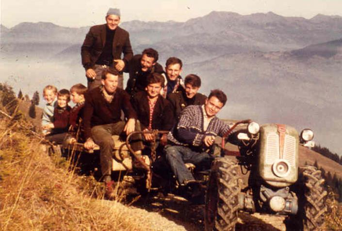 Bauarbeiten Älpele 1966