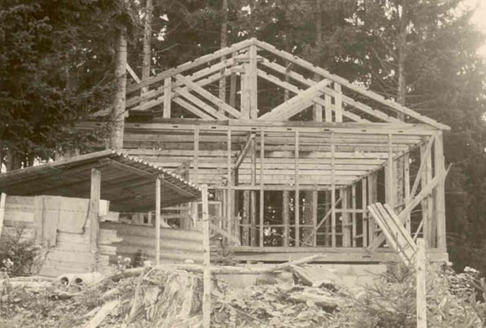 Hüttenbau Älpler 1967